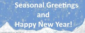 Seasonal Greetings and Happy New Year!