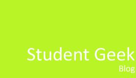 Student Geek Blog
